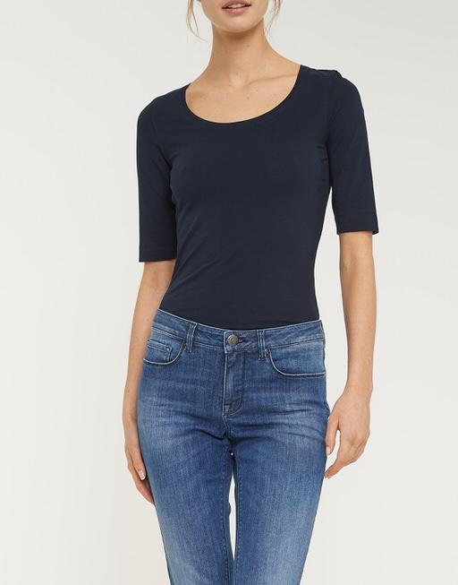 Basic shirt Sanika simply blue