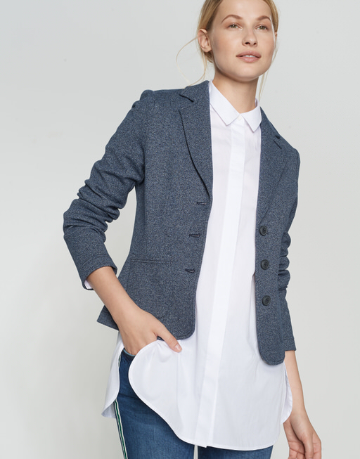 Jerseyblazer Juno blue denim simply blue