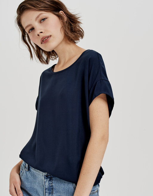 Oversize Shirt Skita simply blue