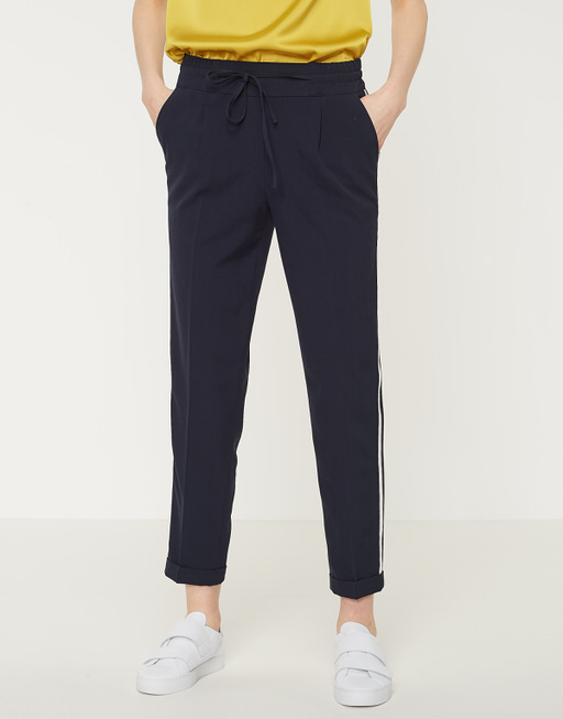 Business Hose Melosa pin simply blue