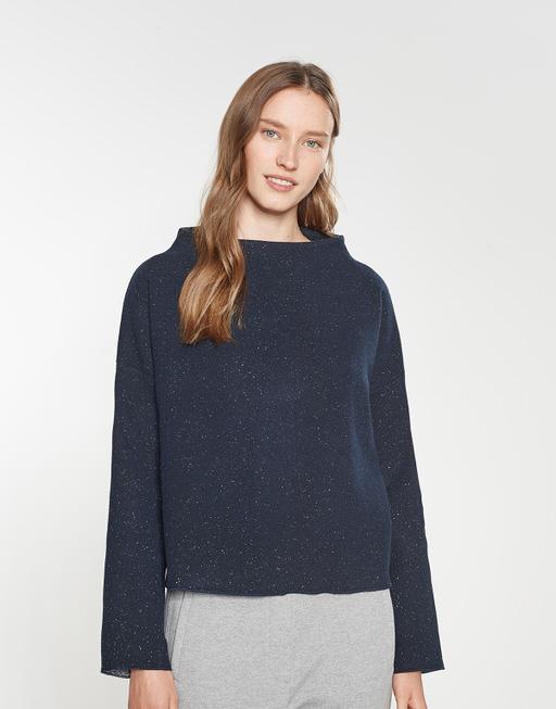 Sweater Gesina nep simply blue