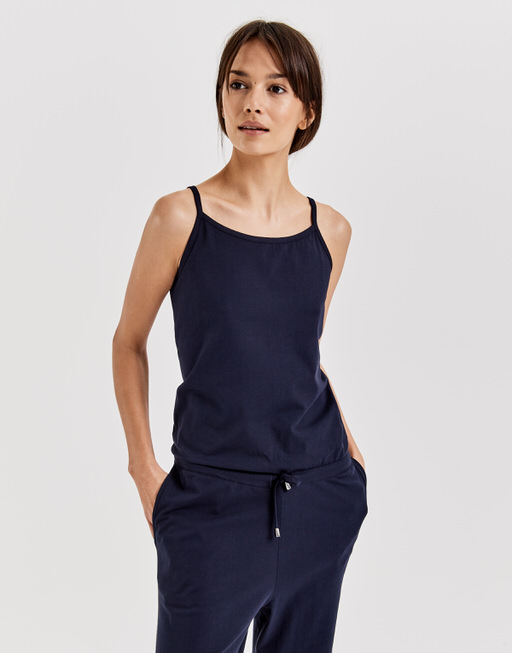 Jumpsuit Magdali tape simply blue