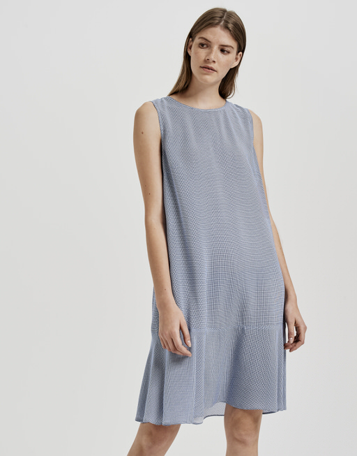 Sommerkleid Wenola minimal blau online bestellen | OPUS ...