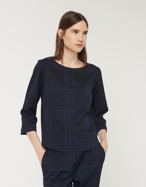 Shirtbluse Fatiha grande simply blue