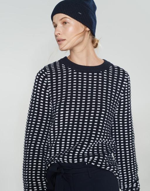 Strickmütze Alasi cap simply blue