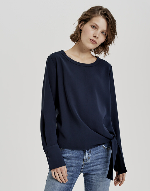 Shirtblouse Flota simply blue