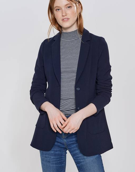 Boyfriendblazer Janni simply blue