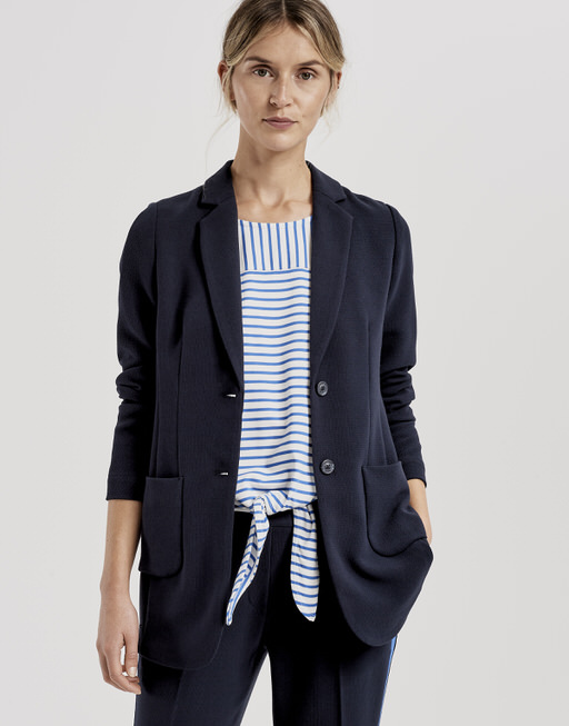 Boyfriendblazer Janni race simply blue