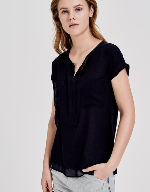 Shirtbluse Flusi simply blue