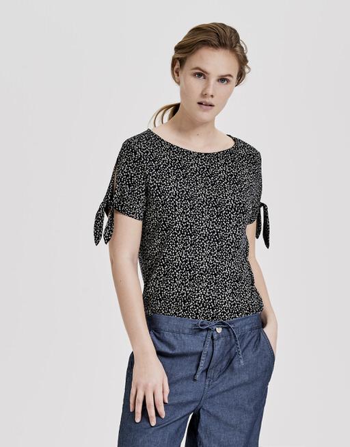 Shirt met print Sadie meadow simply blue