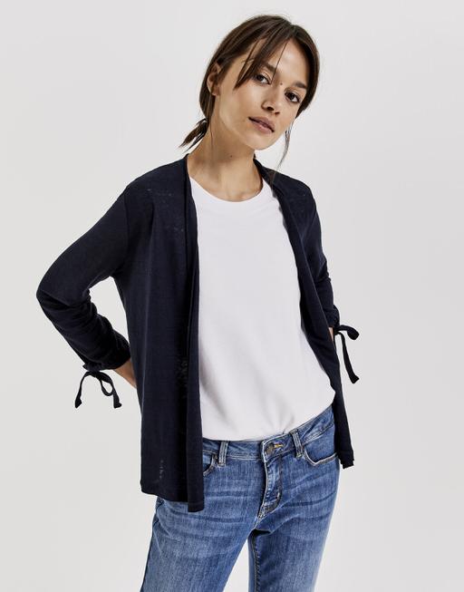 T-shirt cardigan Sunke simply blue