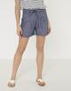 Stoffen shorts Enchi shorts simply blue