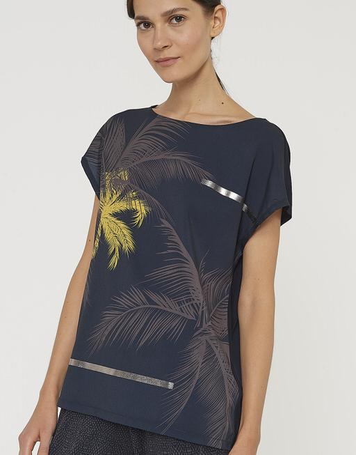 Shirt met print Sino print simply blue