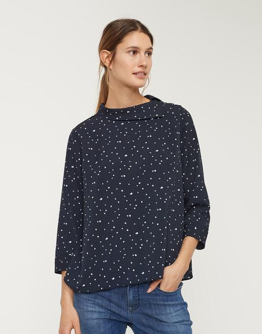 Shirtbluse Finetta simply blue