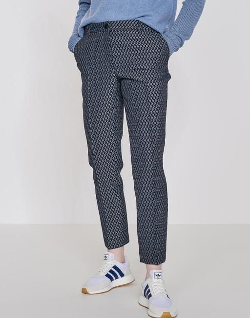 Cigarette trousers Elsi simply blue