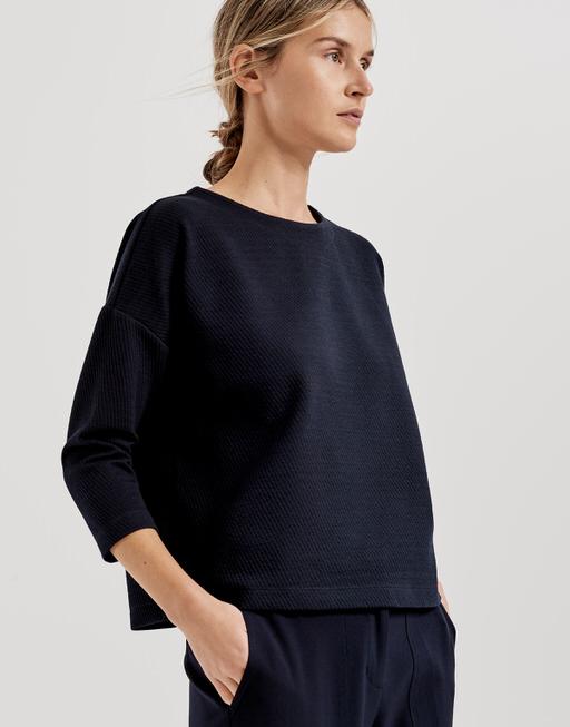 Sweatshirt Grissa simply blue