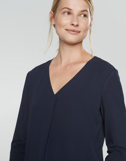 Blouse Fasina simply blue