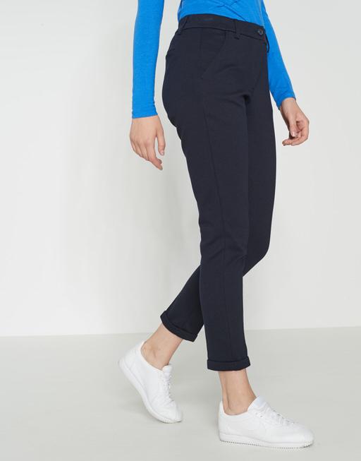 Stoffen broek Melina simply blue