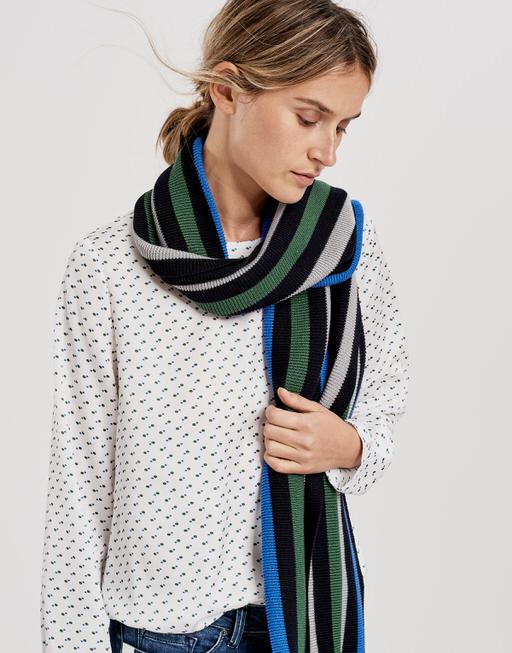 Schal Anni scarf simply blue