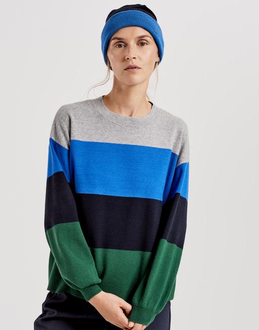 Strickmütze Amelia cap simply blue