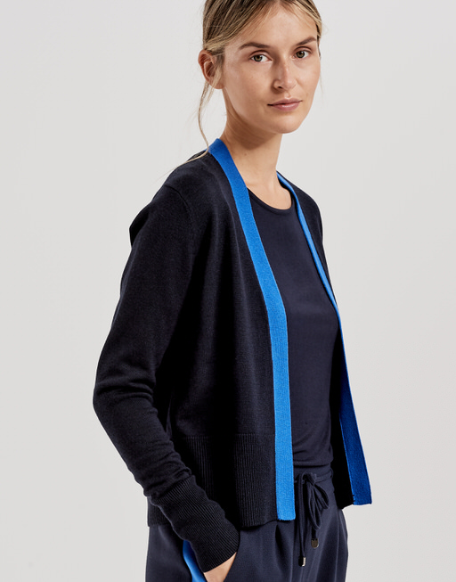 Strickjacke Darby simply blue