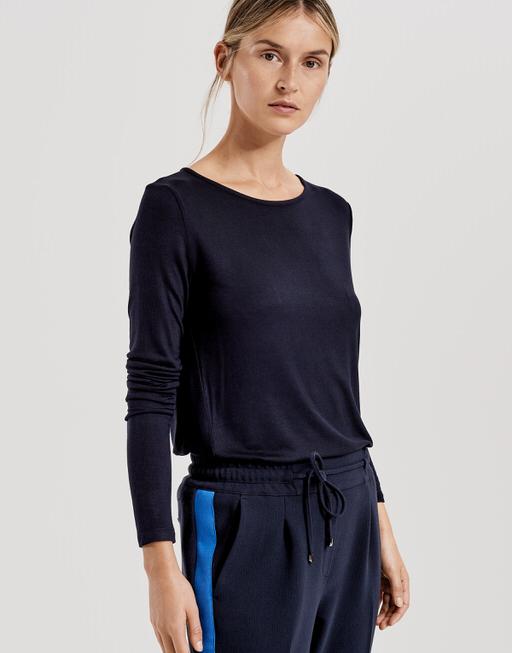Long sleeve shirt Semke simply blue