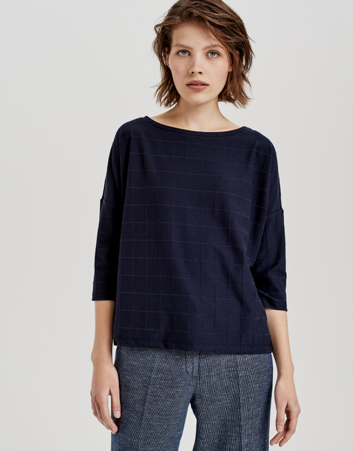 Boxy Shirt Saro simply blue