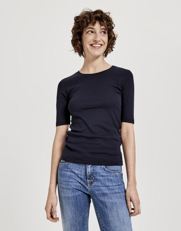 T Shirt daily B blau online bestellen | OPUS Online Shop