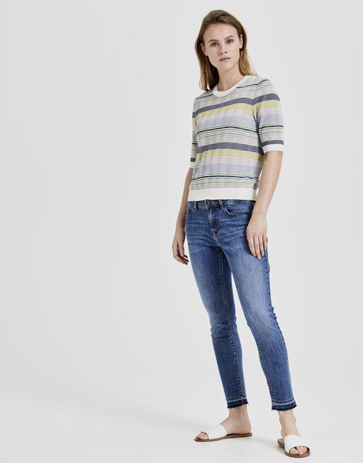 Gebreid T-shirt Pasley simply blue
