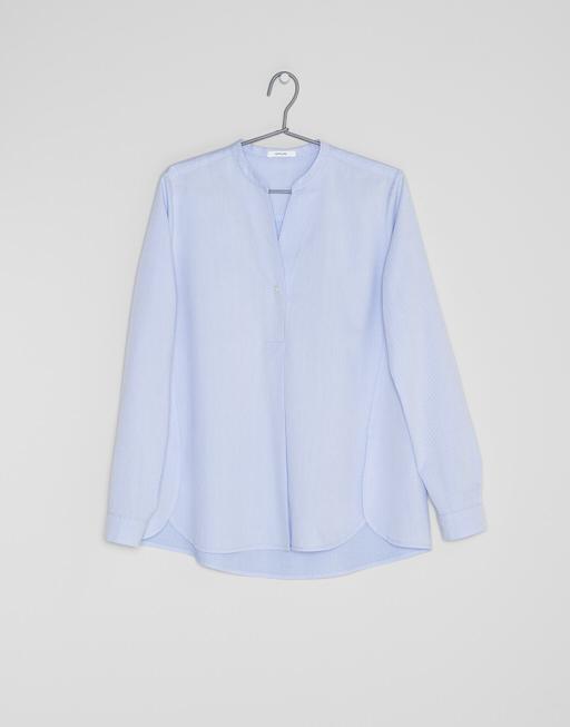 Blouse  Fleming diagonal HS comfort blue