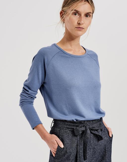 Longsleeve Sabreen comfort blue