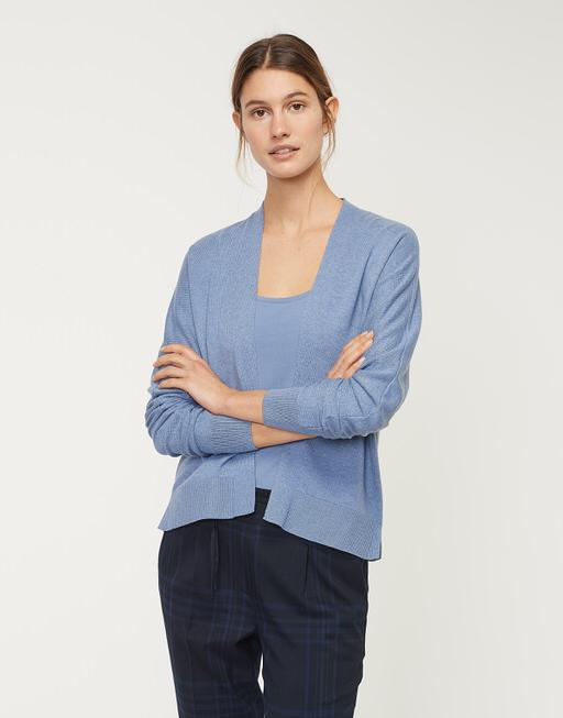 Strickjacke Doloran comfort blue