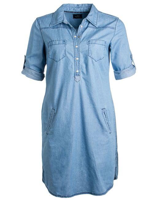 520bf316de0a7d Spijkerjurk Wasia blauw online bestellen | OPUS online shop