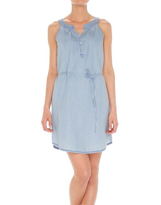 4b835c9876654e Spijkerjurk Wilsa light blauw online bestellen | OPUS online shop