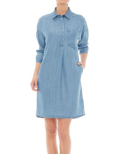 a2cf533f3918cf Spijkerjurk Wimika blauw online bestellen | OPUS online shop