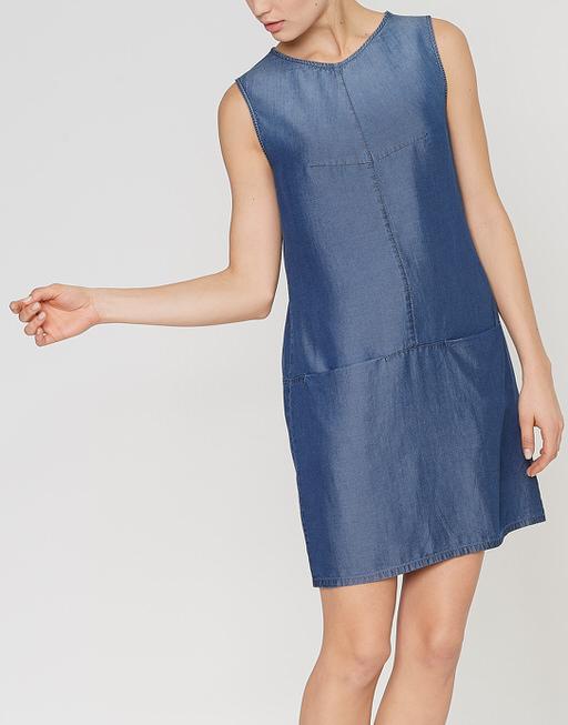 bf5f8b8499a0a2 Spijkerjurk Weronie indigo blauw online bestellen | OPUS online shop