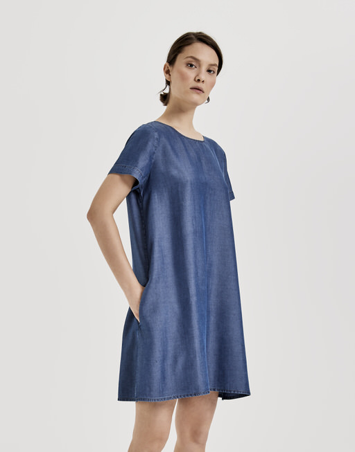 dc7a31932a9142 Spijkerjurk Wanise blauw online bestellen | OPUS online shop