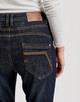 Boyfriend Jeans Letty rinsed blue rinsed