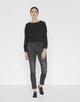 Skinny Jeans Emily dark grey grey washed