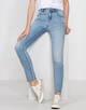 Skinny Jeans Evita light authentic blue