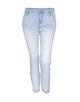 Boyfriend Jeans Letty 7/8 light blue light blue washed