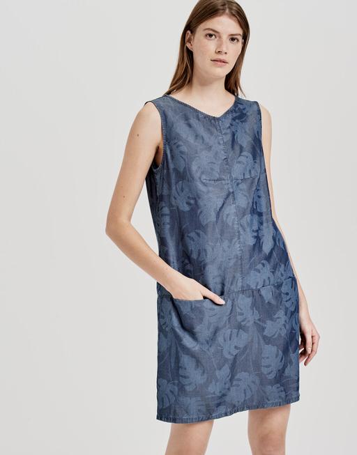 Sommerkleid Weronie tropical tropical blue