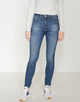 Skinny Jeans Ebby washed mid blue