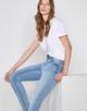 Skinny Jeans Elva light blue soft blue