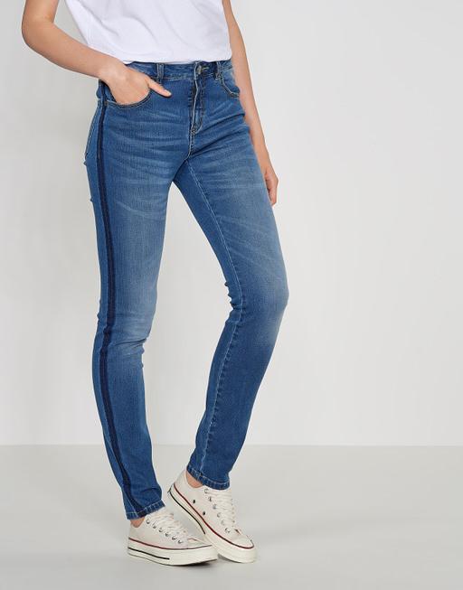 Skinny jeans Elva dark blue authentic blue