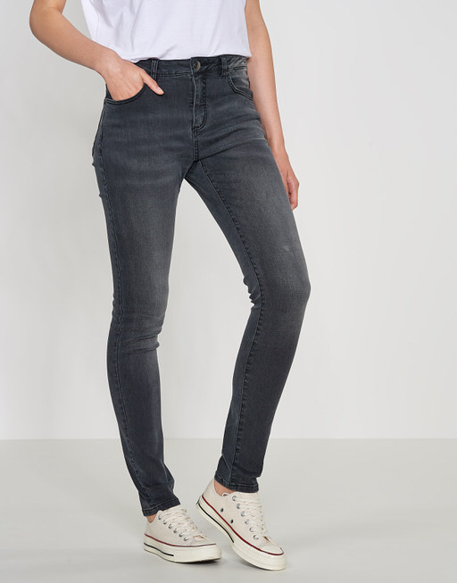 Skinny Jeans Elva black dark wash