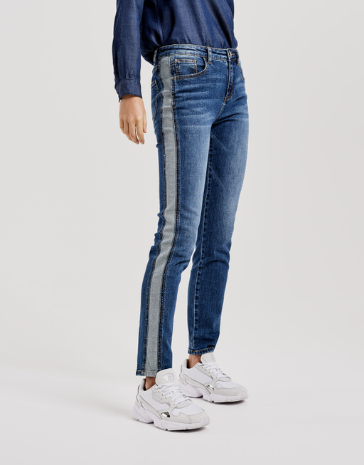 Skinny Jeans Ely inside out blue authentic