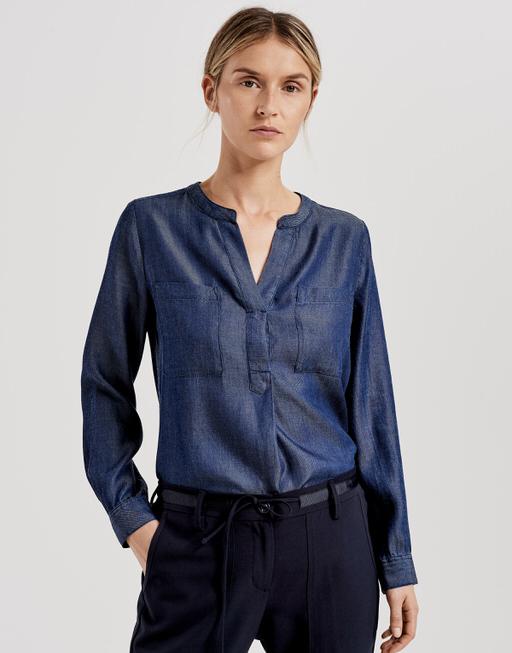 Jeansbluse Finnur clear blue