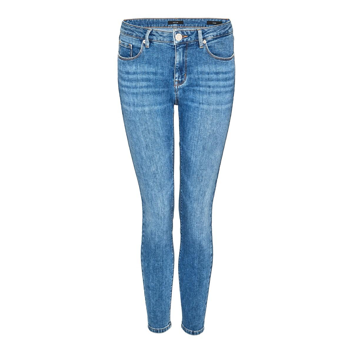 Artikel klicken und genauer betrachten! - Die Skinny Jeans rundet die Kollektion durch die authentische Waschung mit Retro-Charakter ab. Die elastische Baumwoll-Ware überzeugt durch eine hohe Rücksprungkraft und liegt angenehm auf der Haut. Die Jeans ist ein echter Allrounder und darf in keinem Schrank fehlen. Elastische Baumwoll-Qualität, 7/8 Länge, authentische Waschung, Allrounder, das Model ist 177 cm groß und trägt Größe 36. | im Online Shop kaufen