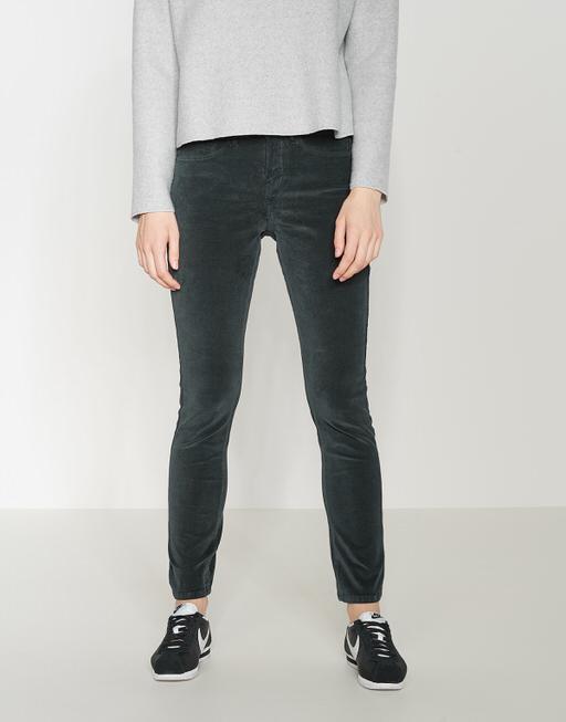 Skinny Emily soft slate grey melange